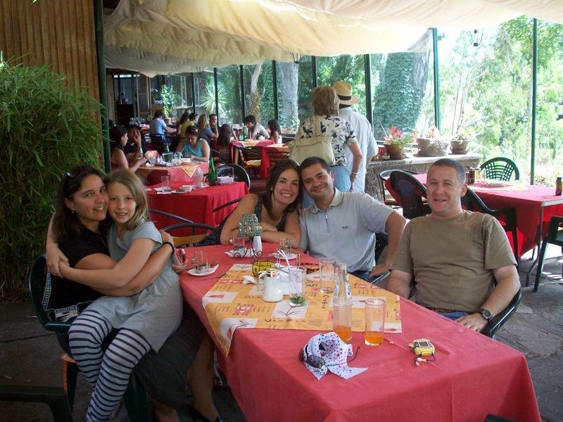 Rencontre entre amis à Salto del Laja_17/02/08