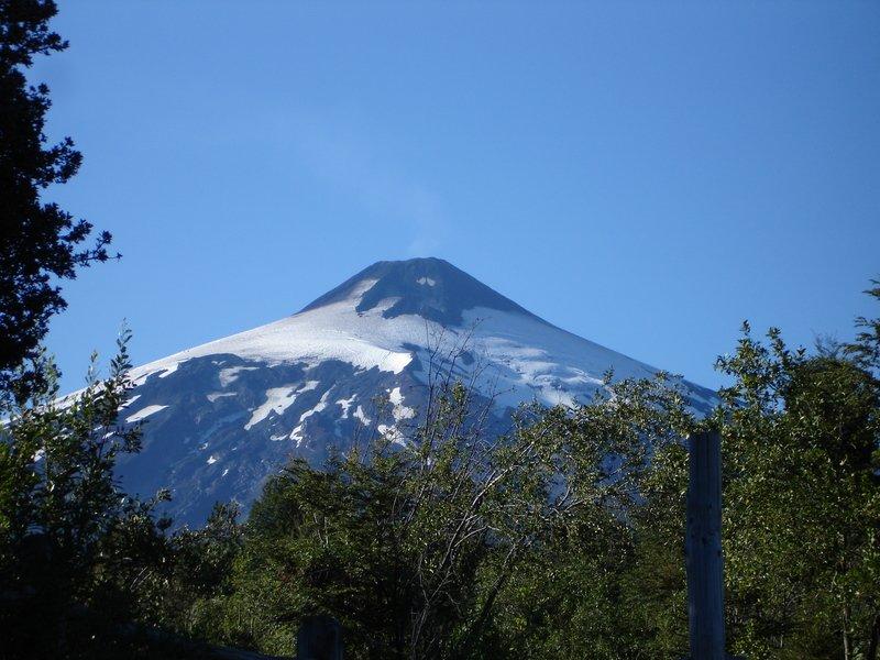 Volcan Villarica de plus près
